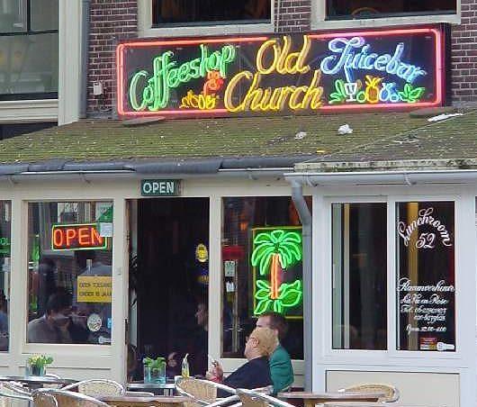 A coffee shop in Amsterdamn c Patrick Verdier