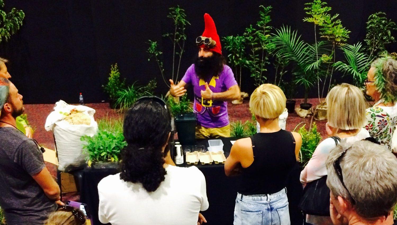 Costa Georgaidis Gardening Australia At Hhi Expo 2016 Dopamine