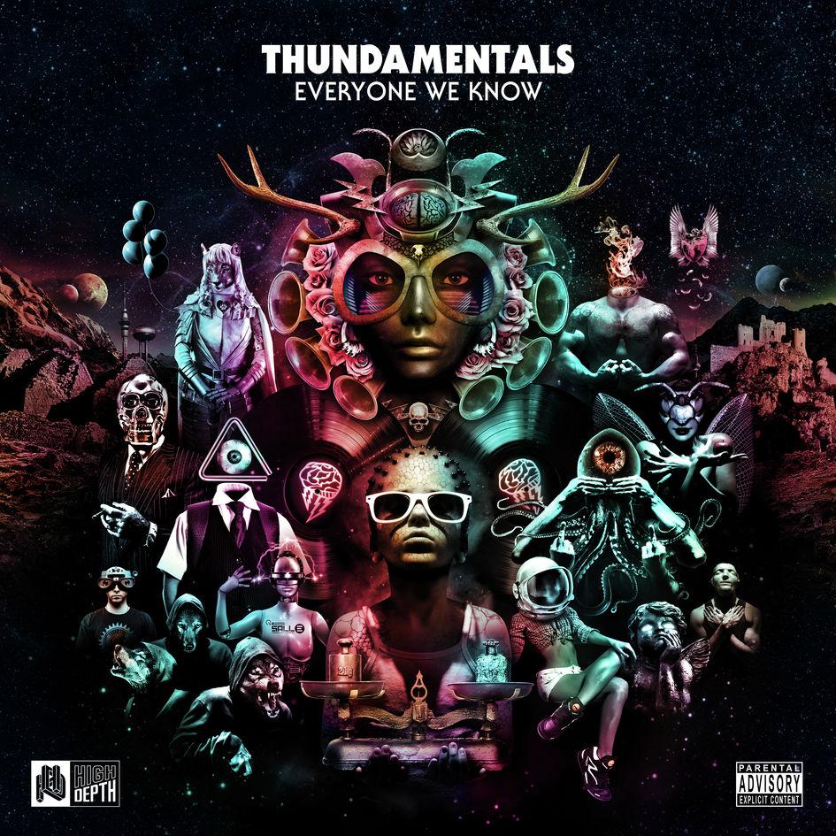 Thundamentals - EWK Album Cover Art